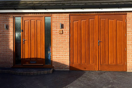 Timber Front Door Colchester
